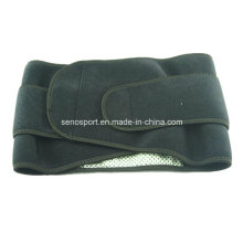 Black Color Neoprene Sport Slimming Belt with Heating Fuction (SNWS05)
