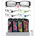 Vidros de leitura plásticos da forma (MRP21647)