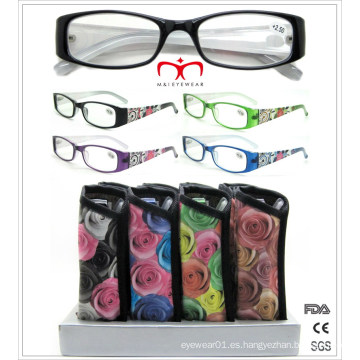Vidrios de lectura plásticos de la manera (MRP21647)