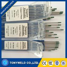 1.0*175 зеленый вольфрамовый электрод WP в сварка стержневыми электродами
