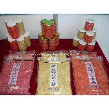 grade a sushi ginger natural color