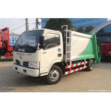 Camion à ordures compacteur
