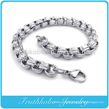 TKB-RN0033 Picture of NEVER FADE 316L Stainless Steel Evergleam Chunky Chains Bracelets For Men Bangles