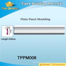 Multi-Color PU panel de pared de moldeo grandes variedades