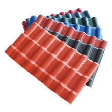 Feuilles de toiture en PVC asa respectueuses de l'environnement de style espagnol
