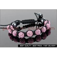 shamballa bracelet meaning pink