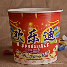 Печатный кубок для попкорна для кино