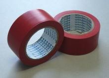 Red Flame Retardant Tape , Low Peel Strength Electrical Ins