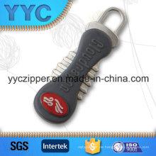 Neuer Designer Metall Zipper zieht mit benutzerdefinierten Begrüßung