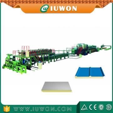 Iuwon Pu continue Production Machine de panneau Sandwich Eps