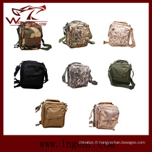 Sac à bandoulière 049 3D sac à dos militaire tactique pour le Double usage