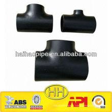 Tête de selle de tuyau en acier carbone ASTM A234 WPB
