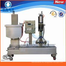 Automatische Füllmaschine mit Deckel für Öle / Lacke / Beschichtungen