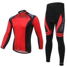 Própria marca bicicleta vestuário manga longa mens ciclismo jerseys