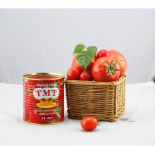 Pasta de tomate halal exportador de pasta de tomate enlatada con alta calidad
