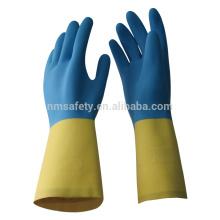 Luvas de segurança de fornecimento de trabalho NMSAFETY látex