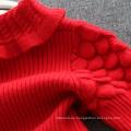 vestidos de navidad niños jerseys rojos faldas para niños XMAS BABY JERSEY ROJO VESTIDOS LINDO VESTIDO BUENA CALIDAD
