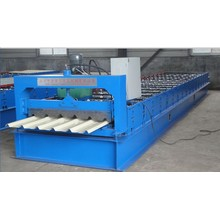 Dua Layer Step Tile Corrugated Arc Machine