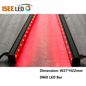 Música activada DMX RGB Led Bar Linear Tube