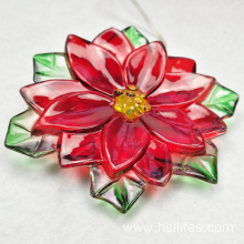 Christmas LED flower gifts