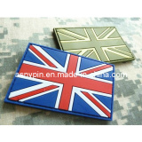 Plastic PVC Rubber Label Patches Union Jack