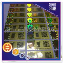 QR Code  Hologram Label Sticker