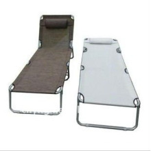 camp bed with pillow VLA-9007B