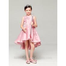 girls first communion dress scoop neckline sleeveless net fabric for girls dress baby dresses ED774