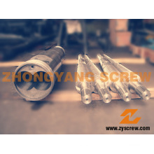 Conical Twin Screw and Barrel for PVC