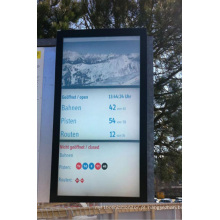 Parede de vídeo LCD retrato 3X46inch