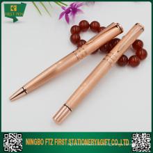 Тяжелая роскошная золотая ручка для подарка