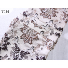 2016 Delicate Jacquard Fabric with Beautiful Flowers (FTH32058)