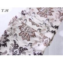 2016 тонкий Жаккардовые ткани с красивыми цветами (FTH32058)