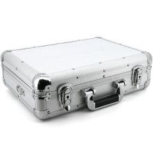 Robuste Aluminiumprofile tragen Box mit Relief und Schaumstoffeinlage