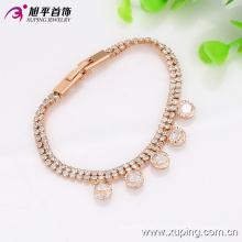Bonita moda Xuping mujeres Elegent dorado L pulsera de la joyería en cobre ambiental - 73724