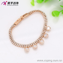 Nice Fashion Xuping Women Elegent Gold-Plated L Jewelry Bracelet in Environmental Copper - 73724