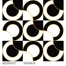 Neues Design Golden Polished Teppichfliese mit 600X600mm (BDJ60433)
