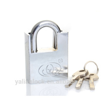 Heavy Duty Square Shackle Half Protected Disc Cylinder Padlock