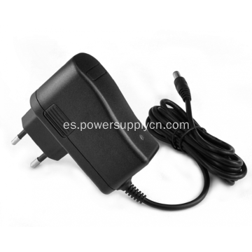 12V1.2A adaptador de corriente alterna de corriente alterna para montaje en pared