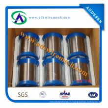 Fil en acier inoxydable 304/316 (vente chaude et prix d'usine)
