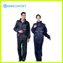 2PCS Polyester Police Raincoat