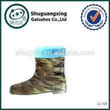 Складная дождь ботинки покрытия для детей дождя сапоги фабрика зимние/C-705