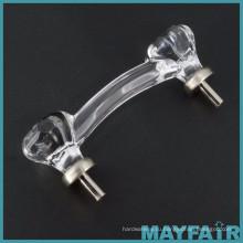 Тайвань лучшие продажи прозрачный Восьмиугольная стеклянная ручка интерьер
