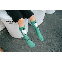 Fancy Baby Girl Kid Stocking Young Girl Tube Tricoté chaussettes en gros pour la vente en gros
