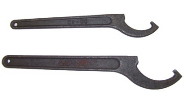 Hook spanner adjustable pin wrench