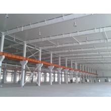 Taller de estructura de acero pintado de alta calidad