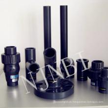 Grey PVC Fastener & Fitting, Combinação & Joint Fittings