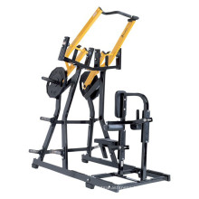 fitness equipment names Iso-lateral Front Lat Pulldown / hammer strength machine