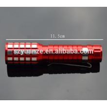Мини-светодиодный фонарик, мини-светодиодный фонарик брелок, светодиодный фонарик браслет