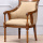 Ruang Tamu High Back Rubberwood Leisure Chair